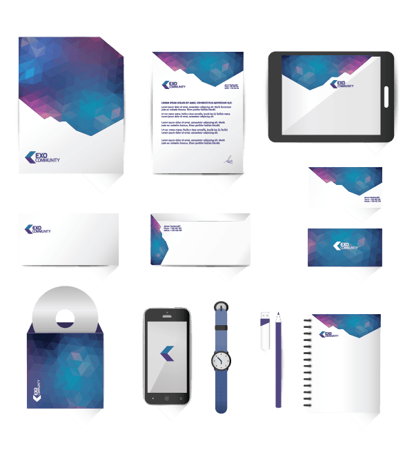 Out of This World Corporate Identity Kit