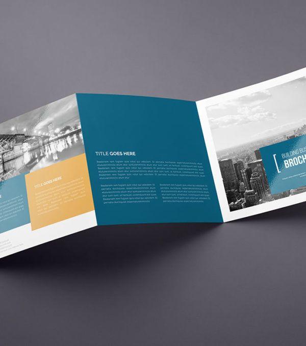 Asa Square Trifold Brochure