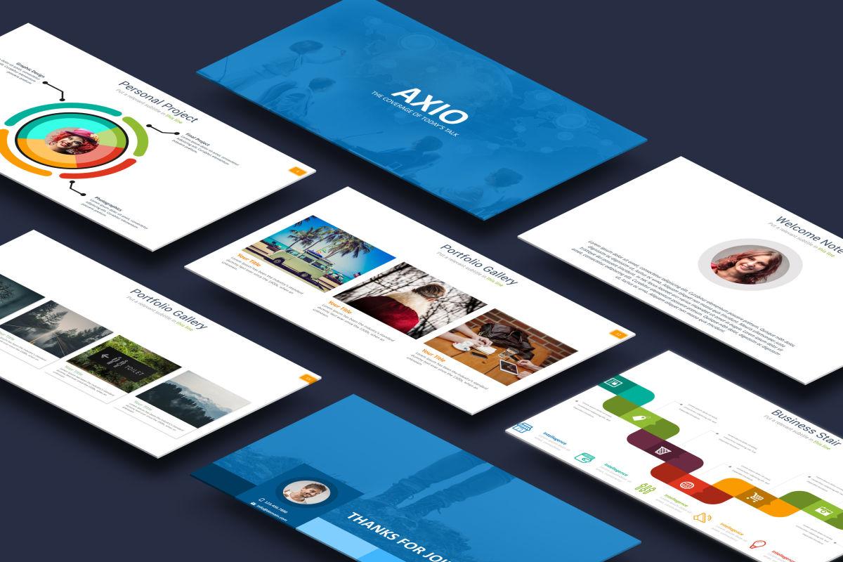 Axio PowerPoint Presentation Template
