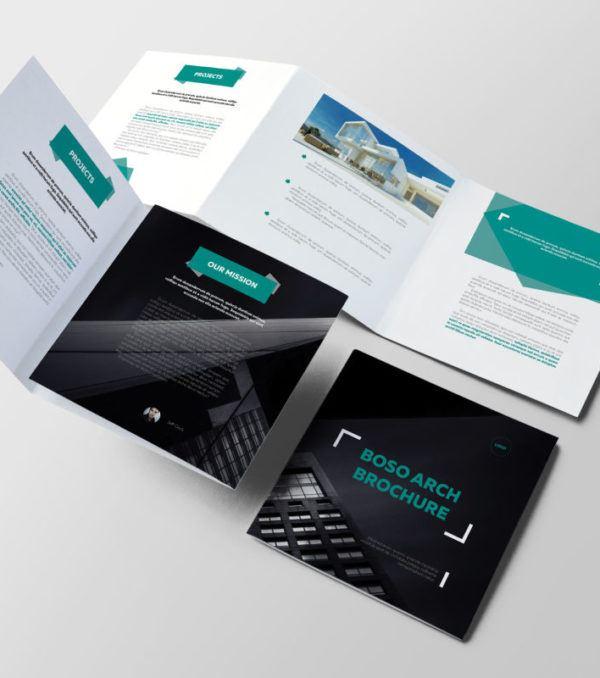 Boso Trifold Brochure