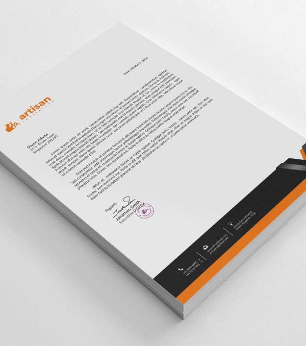 Artisan Corporate Identity Kit