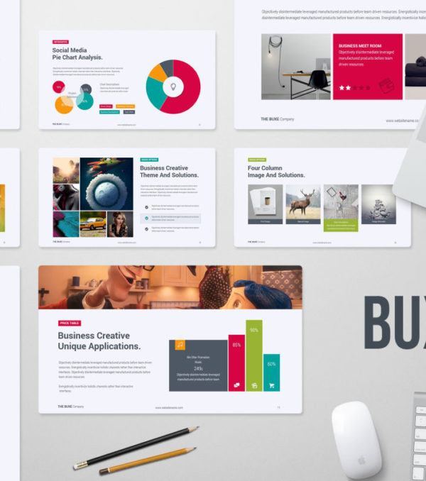 Buxe PowerPoint Presentation Template