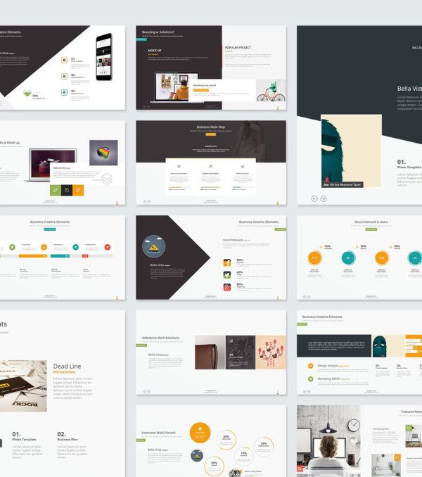 Claude PowerPoint Template