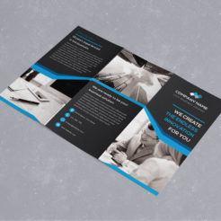 Ein Trifold Brochure