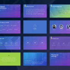 Gradient PowerPoint Presentation Template