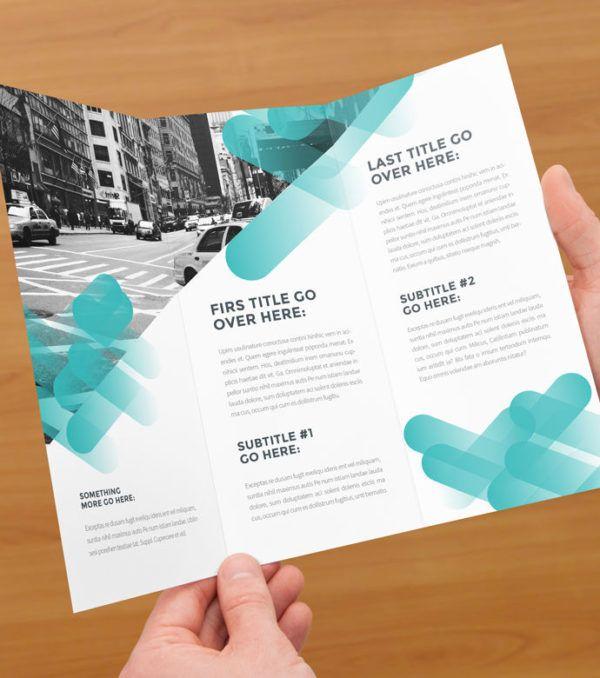 Chelsea Modern Trifold Brochure