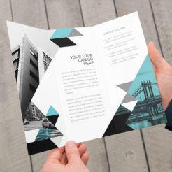 Madrid Trifold Brochure