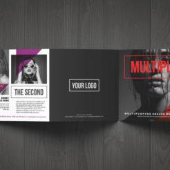 Multiply Square Trifold Brochure