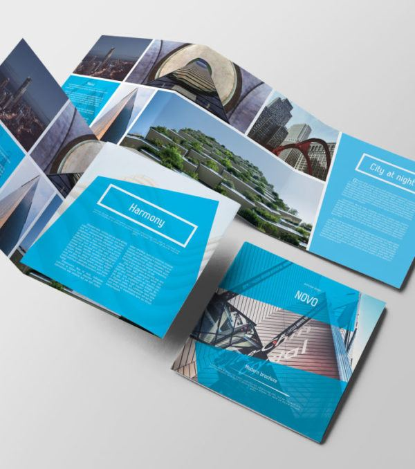 Novo Square Trifold Brochure