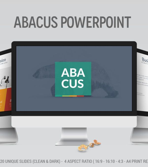 Abacus PowerPoint Presentation Template