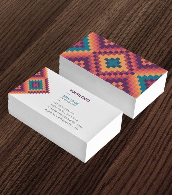 Mesa Stationary Kit Business Card