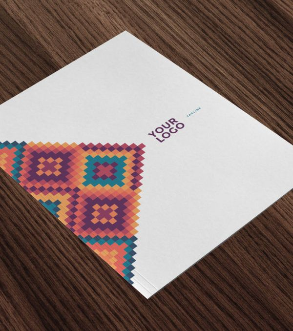 Mesa Stationary Kit Presentation Folder