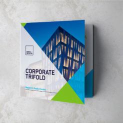 Nina Square Trifold Brochure