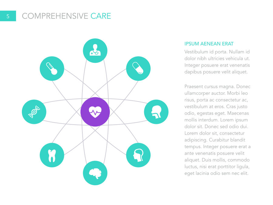 Primary Care PowerPoint Template - Digital Dreams
