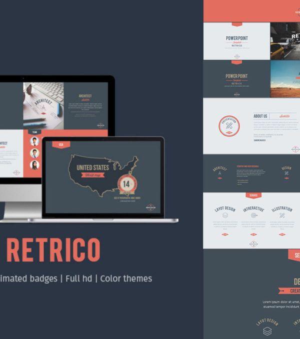 Retrico PowerPoint Template