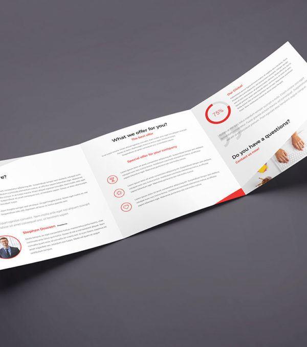 ProBiz Square Trifold Brochure by Digital Dreams