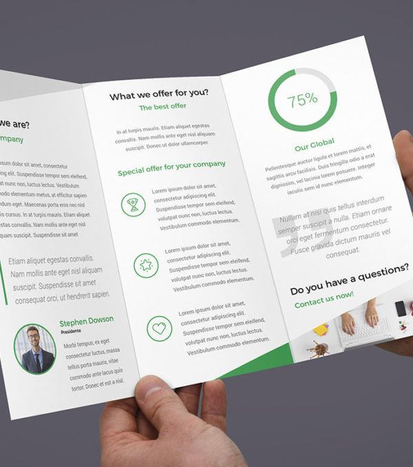 ProBiz Trifold Brochure by Digital Dreams