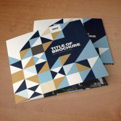 Zara Square Trifold Brochure
