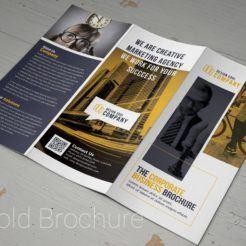 Corti Trifold Brochure from Digital Dreams
