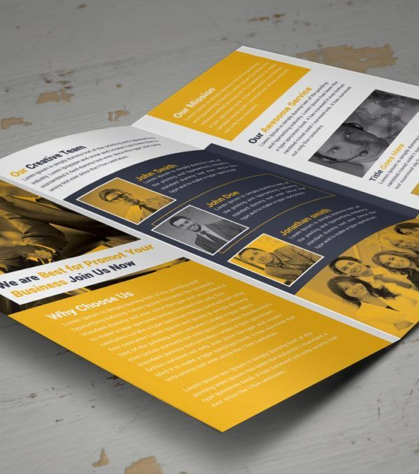 Corti Trifold Brochure from Digital Dreams