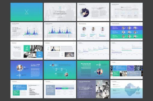 X Factor PowerPoint Template from Digital Dreams